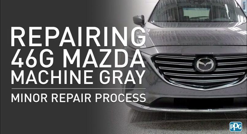 Mazda 46G MACHINE GREY — еще одна неожиданность от Mazda